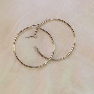 Jewelry - Silver hoops